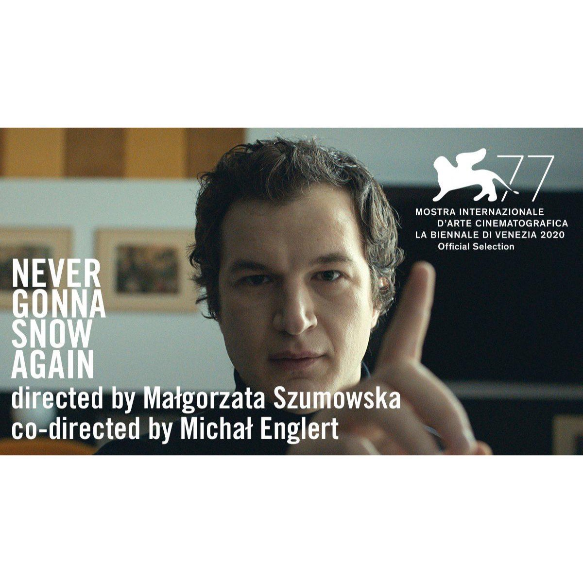 We're so excited to share that 'Never Gonna Snow Again' has be announced in competition at this years @biennale_cinema! @AlecUtgoff plays leading role Zenia & the film is directed by Malgorzata Szumowska & Michal Englert🎥 #venice70filmfestival #venezia70 @THR