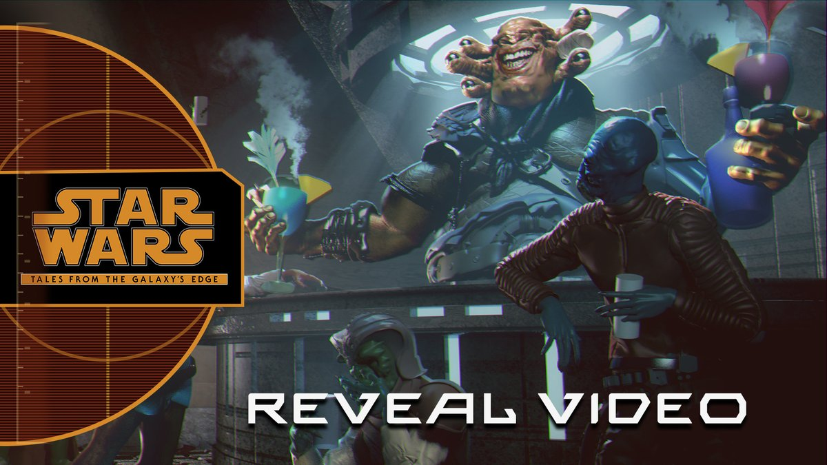 Fight Guavian Death pirates, fire blasters, and hang out in Seezelslaks cantina in #StarWarsTales from the Galaxys Edge by @ILMxLAB. Coming later this year to Oculus Quest. Learn more: strw.rs/6002GbF4w