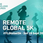 Image for the Tweet beginning: The #YLGlobal5K is going remote
