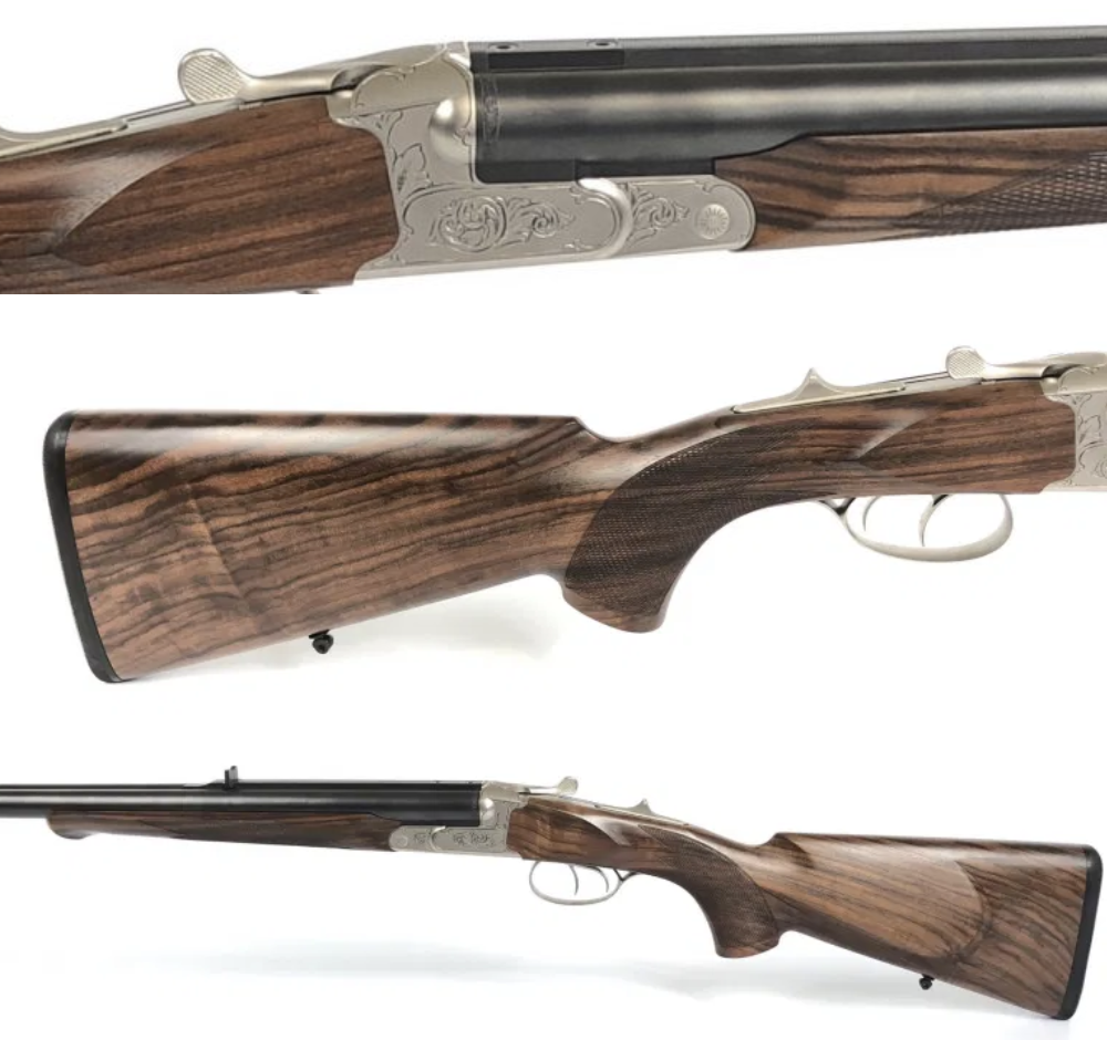 This Krieghoff Classic Double Rifle Standard .450/.400 N.E, Ejector Model is now available. Need a hunting rifle? Give us a call today at (210) 829-0297. pic.twitter.com/WWW4lMKect