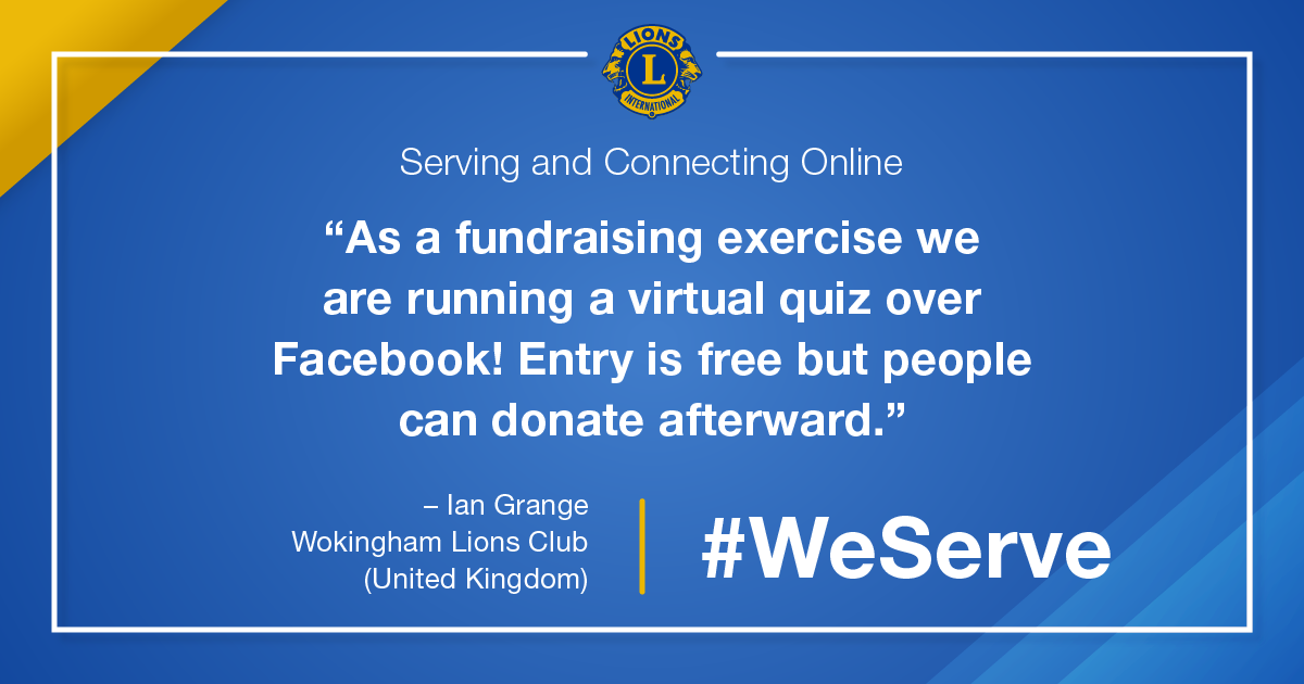 test Twitter Media - For Lions, serving safely means getting creative with the ways they support their community, such as raising funds through social media events. How are you reaching out and giving back in new ways? #WeServe https://t.co/Gf8lfnRvxy