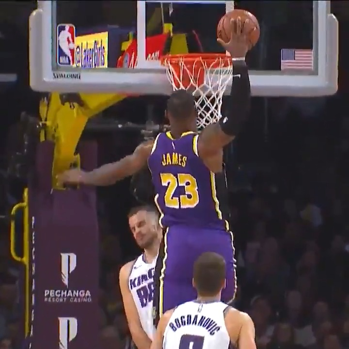 😱 Here comes L. B. J.!!! 😱 @KingJames top @Lakers DUNKS from this season so far before NBA Restart begins on July 30th! #WholeNewGame