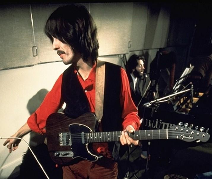George Harrison + Paul The #Beatles Let It Be via @groovymcbeardy