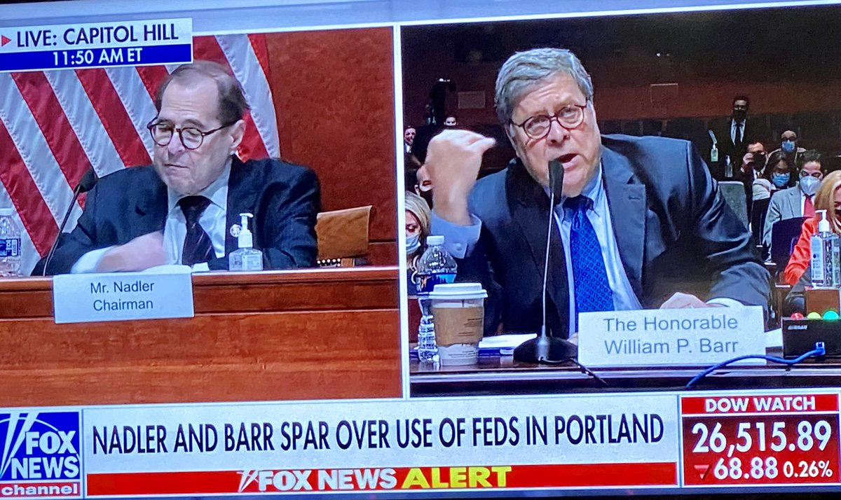 AG Barr is embarrassing Nadler ...