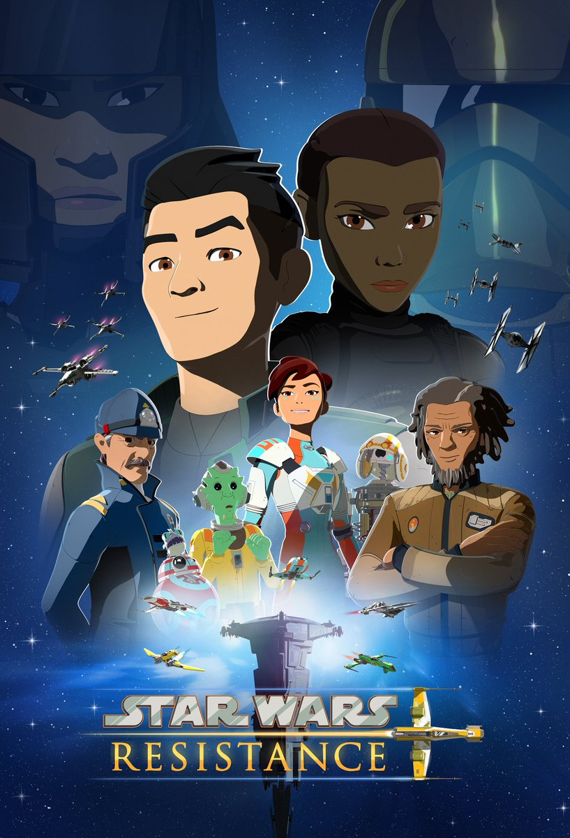 Congratulations to the #StarWarsResistance team on their Emmy nomination for Outstanding Children's Program!