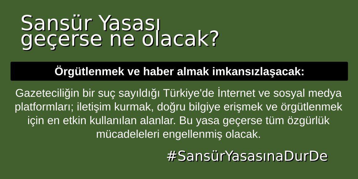 """Alp Altınörs's tweet - """"Sosyal medyaya sansür yasası genel kurula ..."""