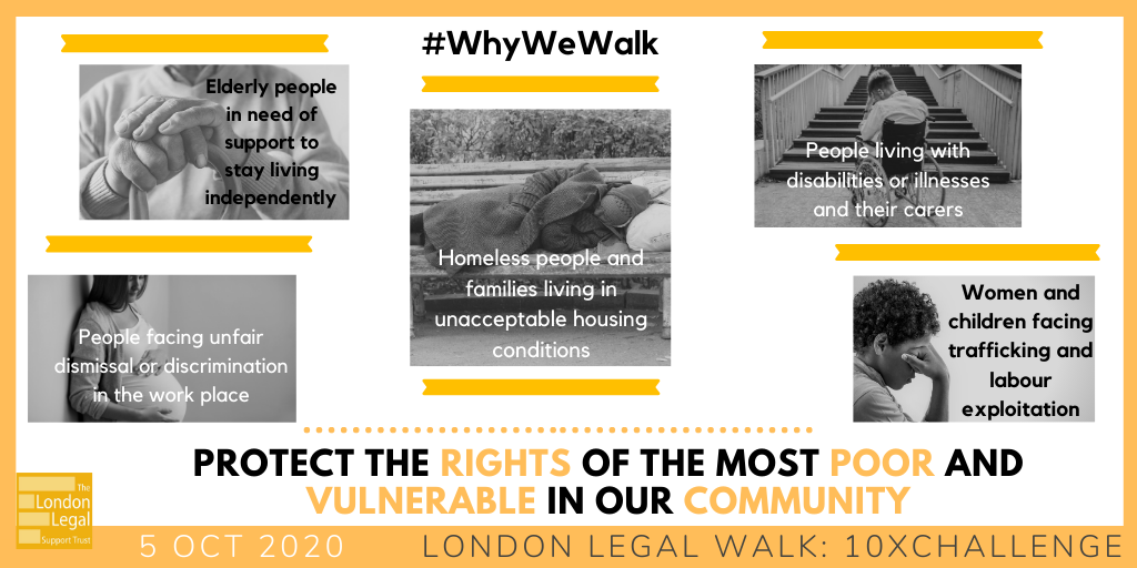This is certainly why across Stowe we will be walking, running, baking cakes, practising yoga and more to raise money to help protect the rights of the most vulnerable #legalwalk #10xChallenge #londonlegalwalk '#whywewalk