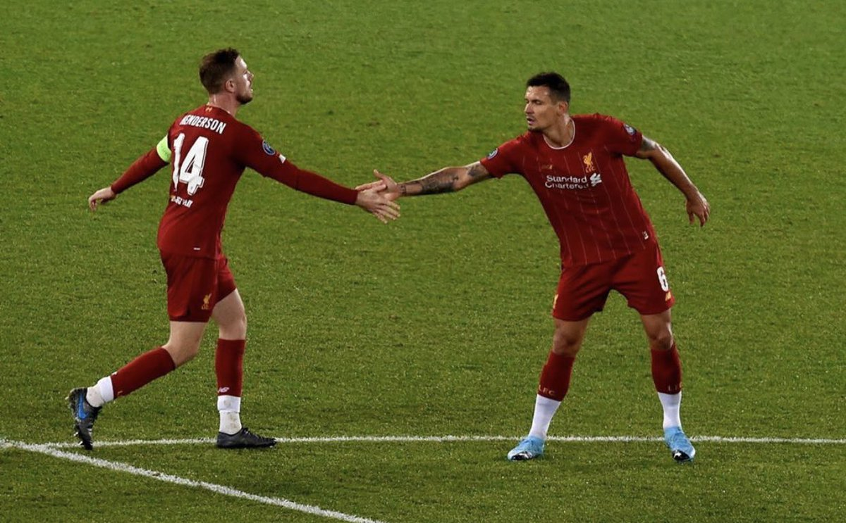. @Dejan06Lovren thank you for everything! It's been a pleasure to be able to play with you for so many years, you will be missed but I wish you and your family the very best with your next chapter and hope to see you all again one day in the near future! ❤️ #YNWA https://t.co/OZG4yKpddW