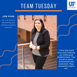 Image for the Tweet beginning: This week's Team Tuesday: Jen