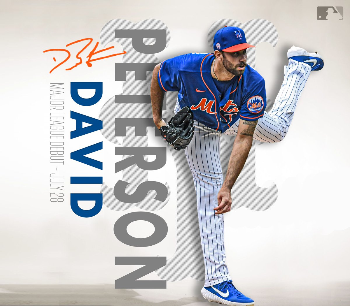 Welcome to the show!  @_David_Peterson is expected to make his @MLB debut tonight in Boston. #LGM https://t.co/IpN72grXR7