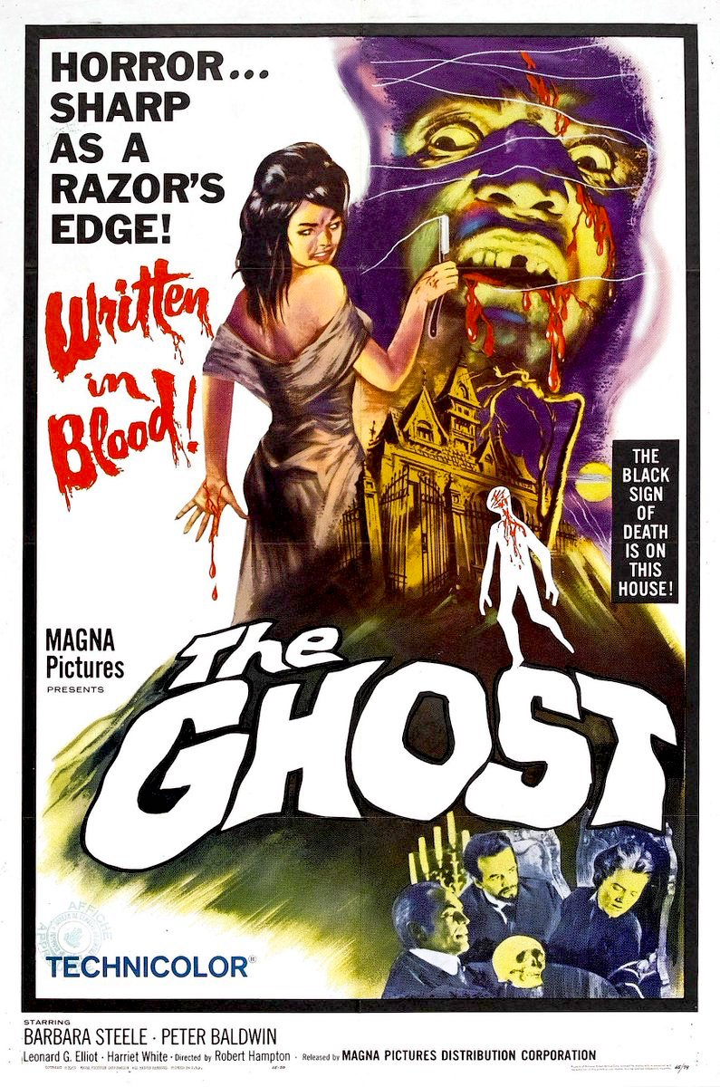 THE GHOST (1963) w/ Barbara Steele #horror #poster pic.twitter.com/m3W3WvzbFT