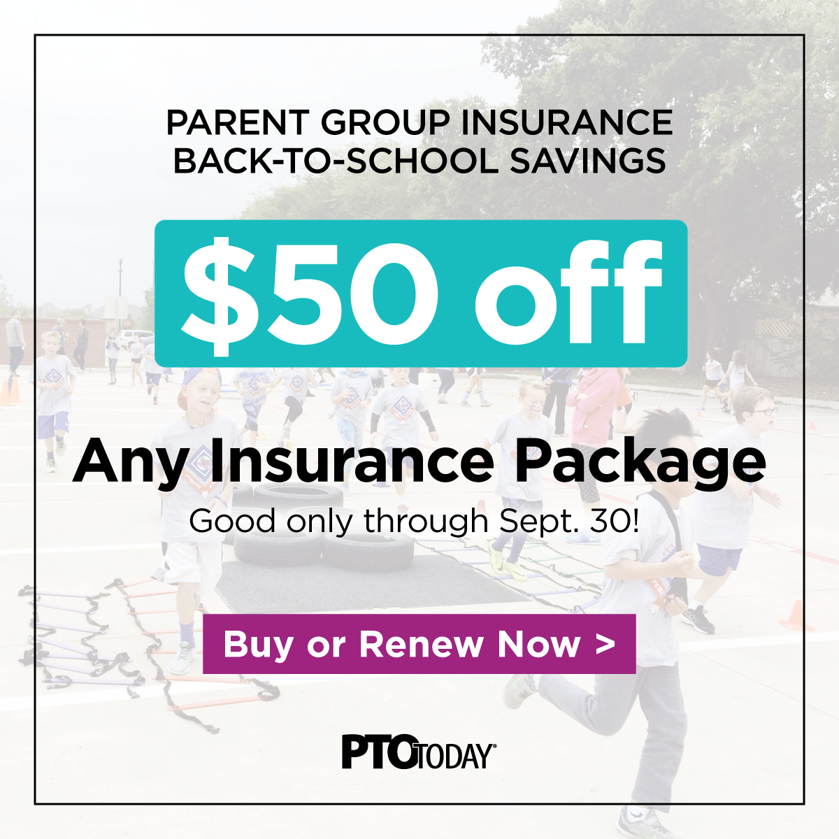 We want to help you start the school year off with one less thing to worry about, so we are offering both new and returning customers $50 off any PTO Today insurance package purchase now through September 30th. Buy now with promo code 50fall20. http://ow.ly/AlFZ50AKvyrpic.twitter.com/3Qf9DHCKWn