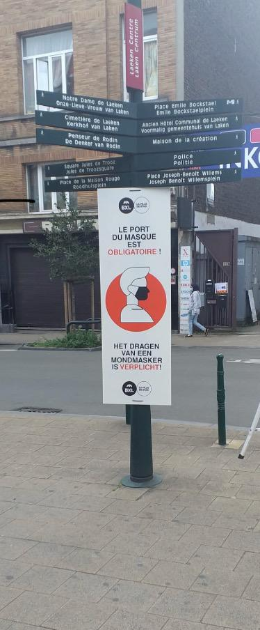 @zpz_polbru @VilleBruxelles @Ixelles_Elsene comptent sur vous, les pictogrammes indiquent les endroits où le port du masque est obligatoire   https://t.co/tCVAVHgasb  https://t.co/wGvvCtRXQo  #ensemblecontrelecorona #covid https://t.co/xgzEHGlEsc