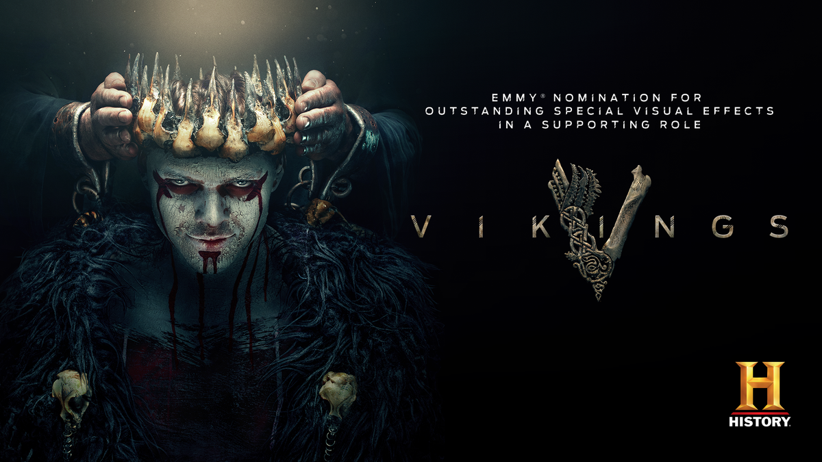 Congratulations to the #Vikings team on receiving an #EmmyNomination for Outstanding Special Visual Effects in a Supporting Role. https://t.co/mJGh1cbo3e
