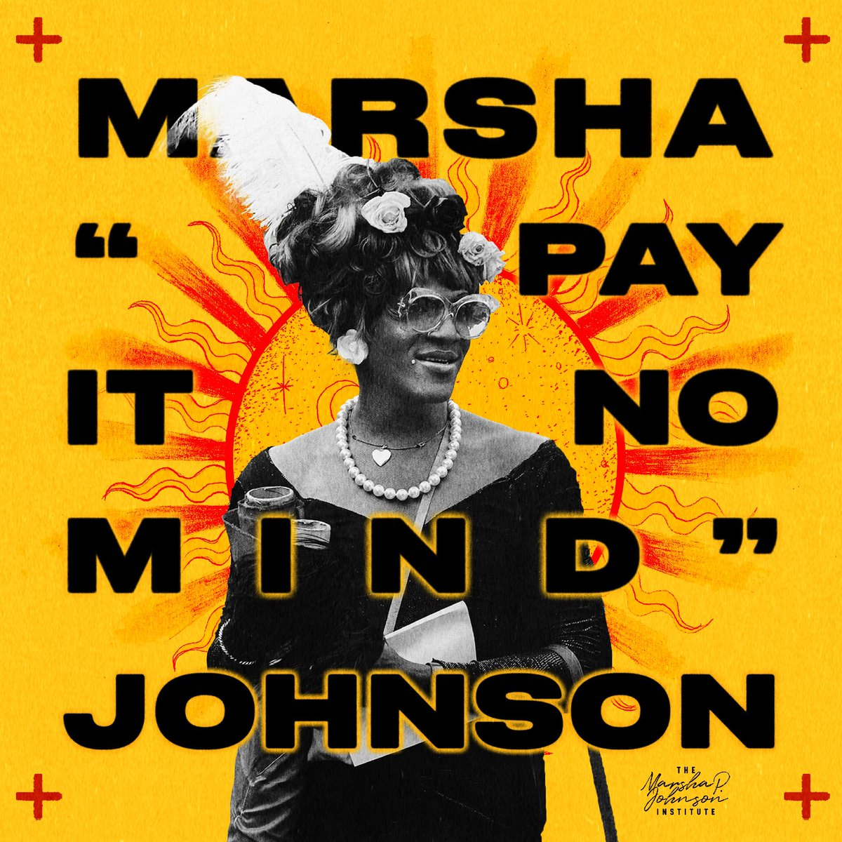 Marsha P. Johnson was a fearless leader in the Black transgender community. The @mpjinstitute honors her legacy by continuing her fight to protect and defend the human rights of Black trans people. Swipe through to learn more, or visit .