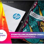 Image for the Tweet beginning: Shouldn't your business cards tell