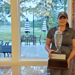 Image for the Tweet beginning: Congratulations to Ashley Thomas, PGA