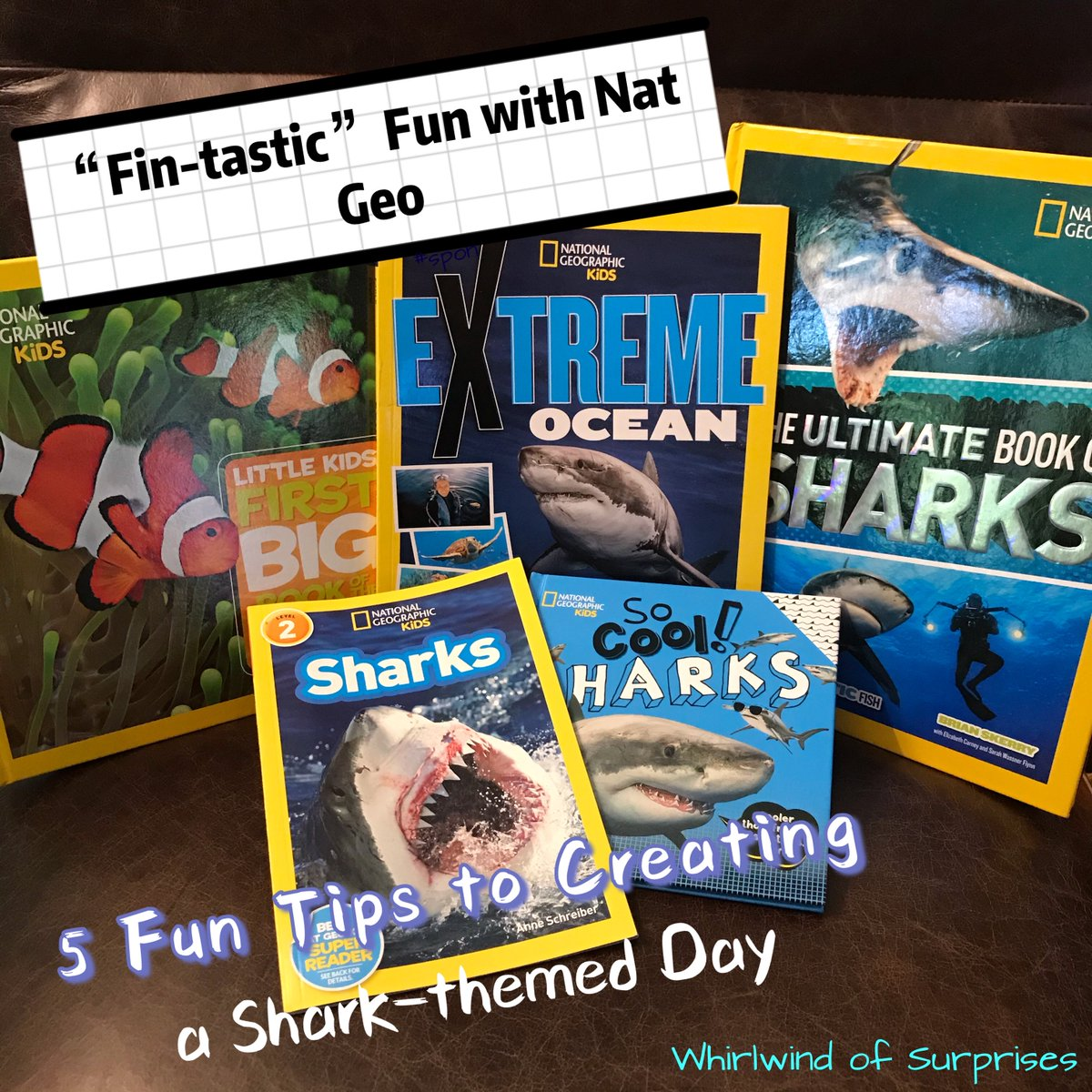 Fun National Geographic Shark Books
