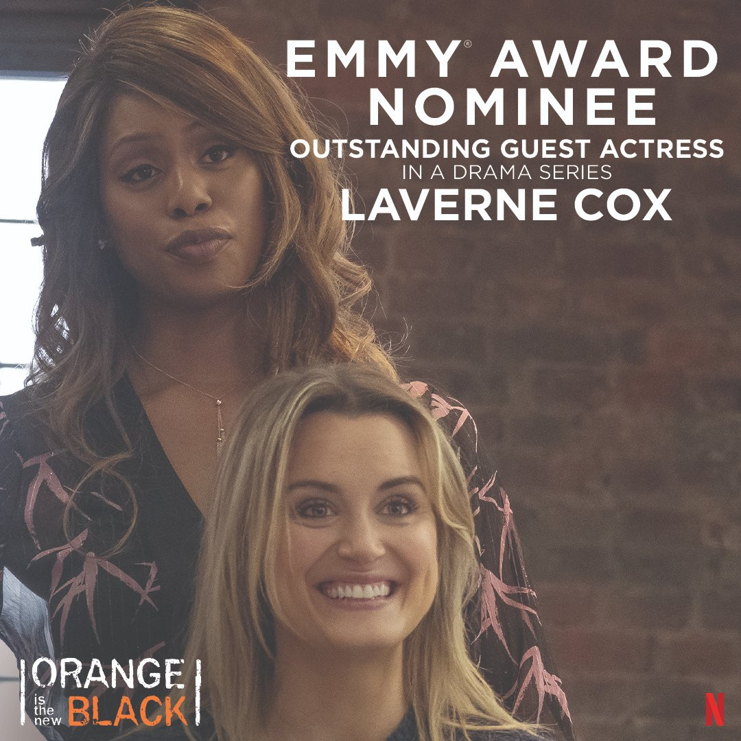 Congrats, @Lavernecox! 🧡🧡🧡🧡 https://t.co/4kJsmxsiM8