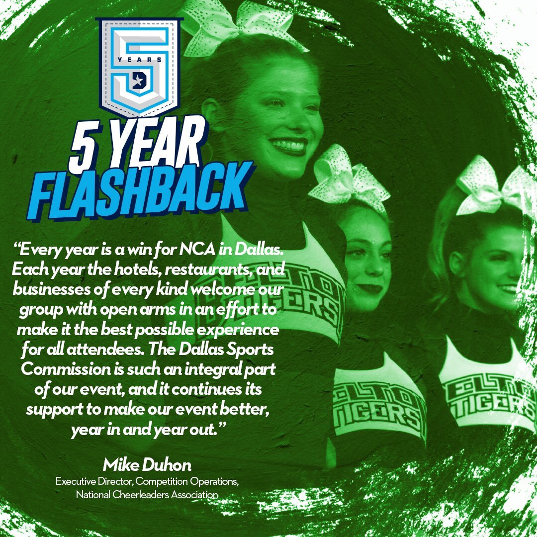 It is such a pleasure having the opportunity to host @NCAupdates Nationals in Dallas each year!  #DSC5Years | #DallasBIGWins https://t.co/2JjBgXikx9
