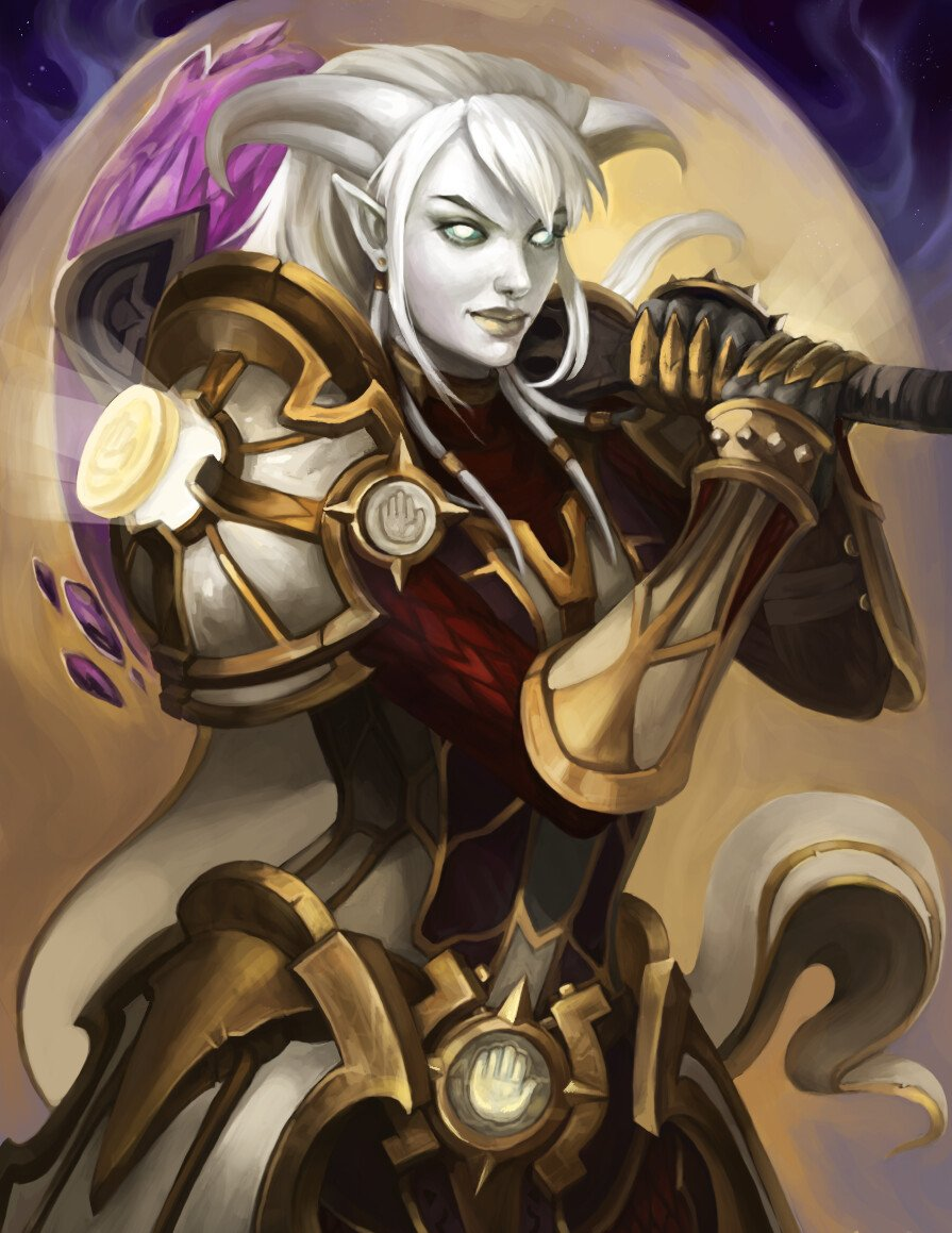 The Art Of Warcraft On Twitter Fan Art Of Classes From World Of