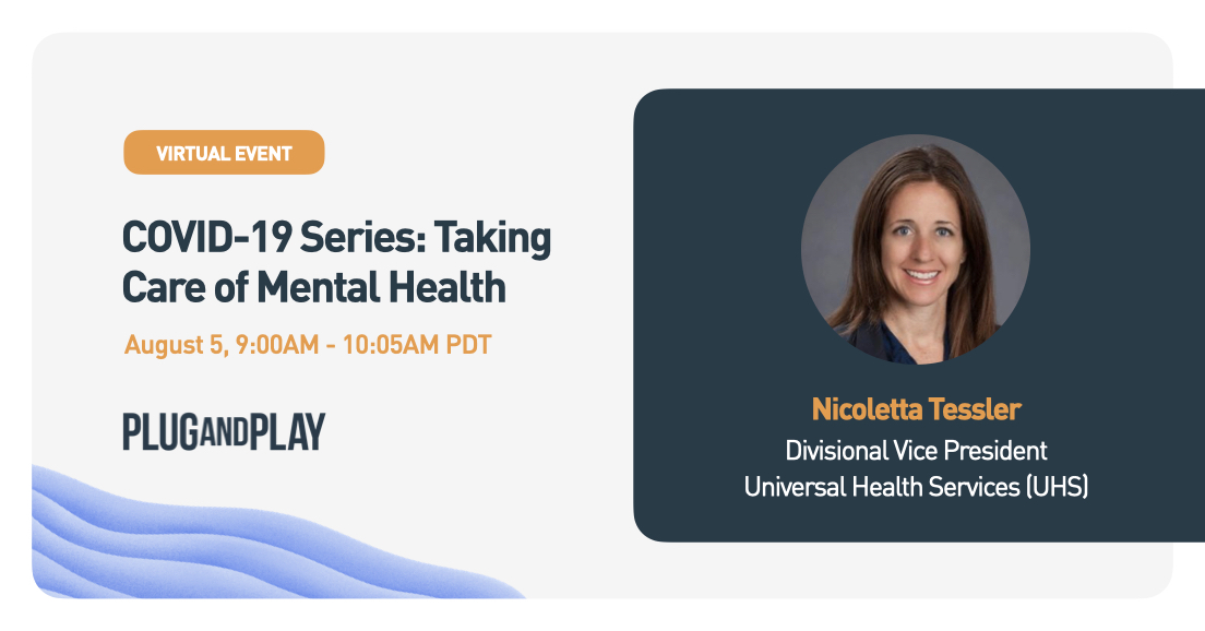 #MentalHealth has emerged as one of the most important and pressing healthcare issues worldwide. Join us to hear from Nicoletta Tessler, Divisional VP at @UHS_Inc, to talk to the intersection of #PatientExperience + #BehavioralHealthcare.  Register Here 👉 https://t.co/ByxI0nIiOg https://t.co/wI7C0nzTrG