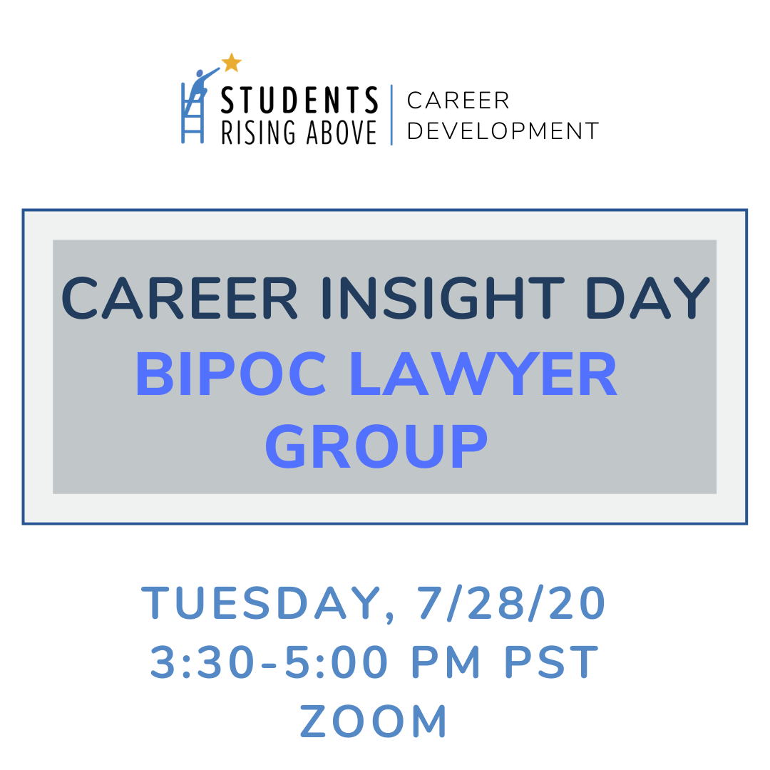 Join this one of a kind virtual event today to learn how professionals in law are using their careers to fight for #SocialJustice ⚖️ #BIPOC #Lawyers https://t.co/7KAmASnZ5l