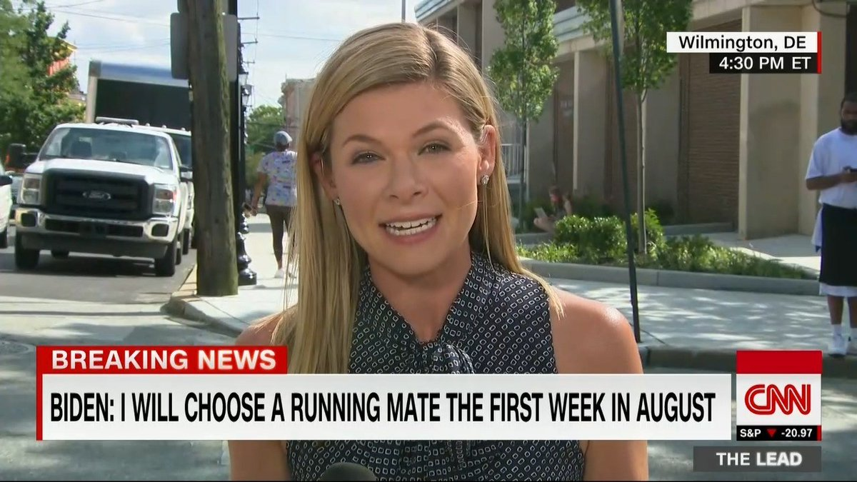 Biden still plans to choose running mate by next week @jessicadean reports