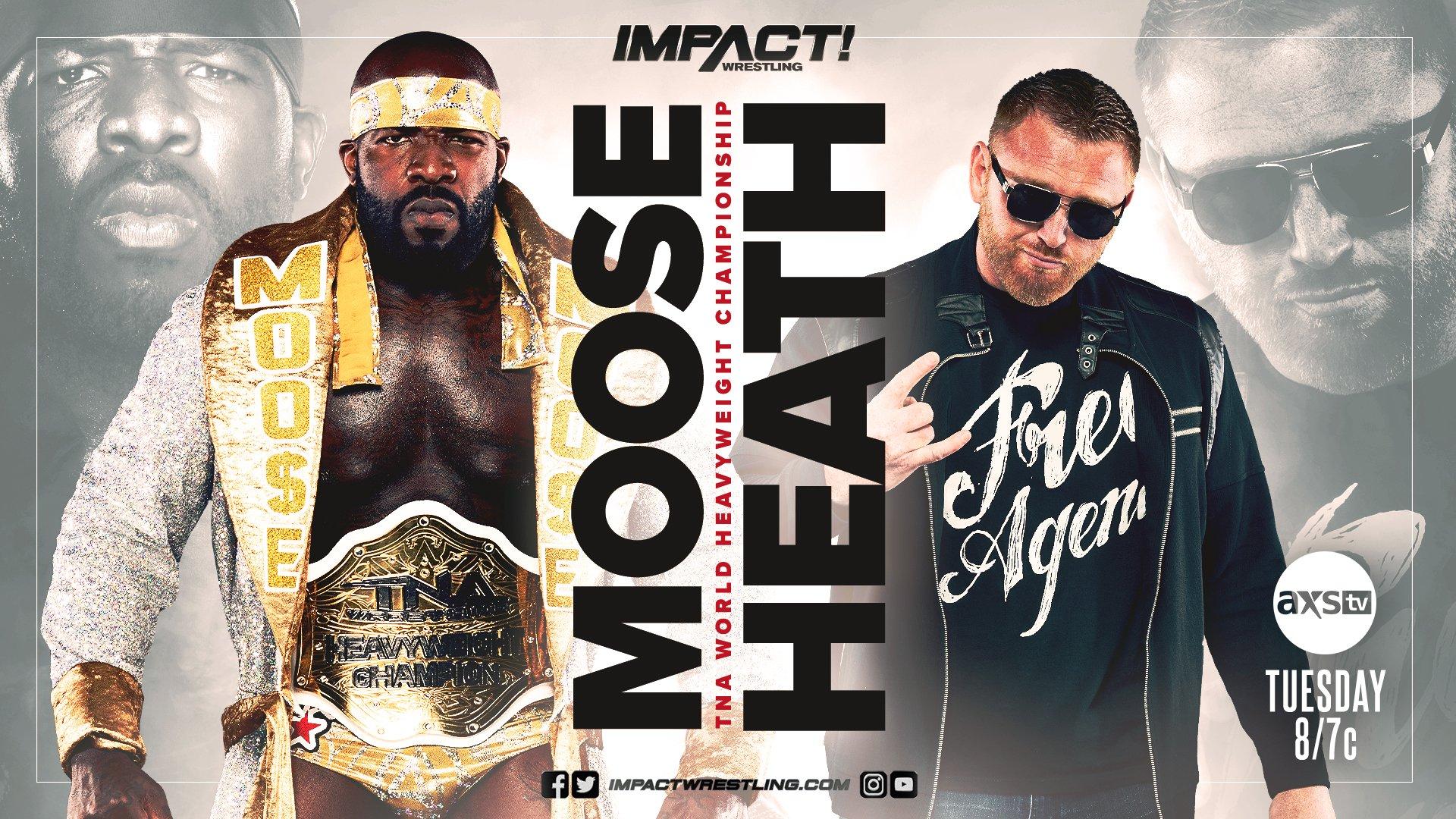 Heath Slater lutará pelo TNA World Heavyweight Championship no próximo IMPACT Wrestling