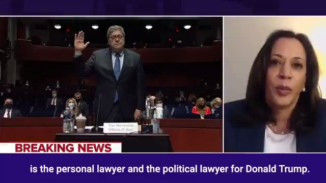 Bill Barr has been an aider and abettor to the most corrupt president we've ever had.