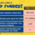 Image for the Tweet beginning: O #NovoFundeb vai nos colocar