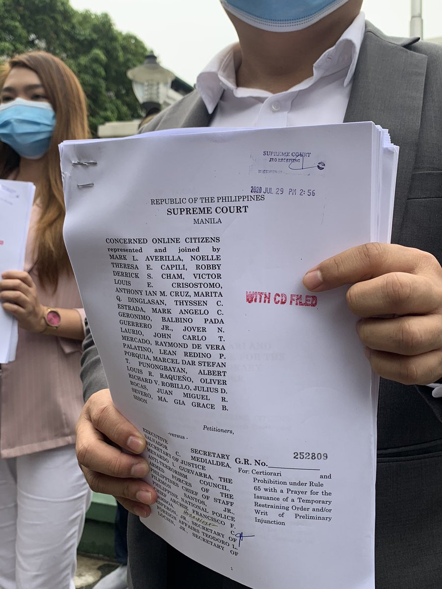 'Protect internet freedom': Bloggers, online influencers file 21st petition vs anti-terror law 2