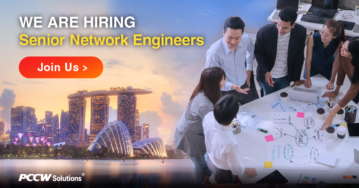 We're hiring in Singapore! We're looking for Senior Network Engineers and if you or anyone you know meet the requirements listed, please click here to apply - https://t.co/II54BVDNvR  #Singapore #Hiring #joinusnow #jobopportunities #pccwsolutions https://t.co/F4RAOKdhzz