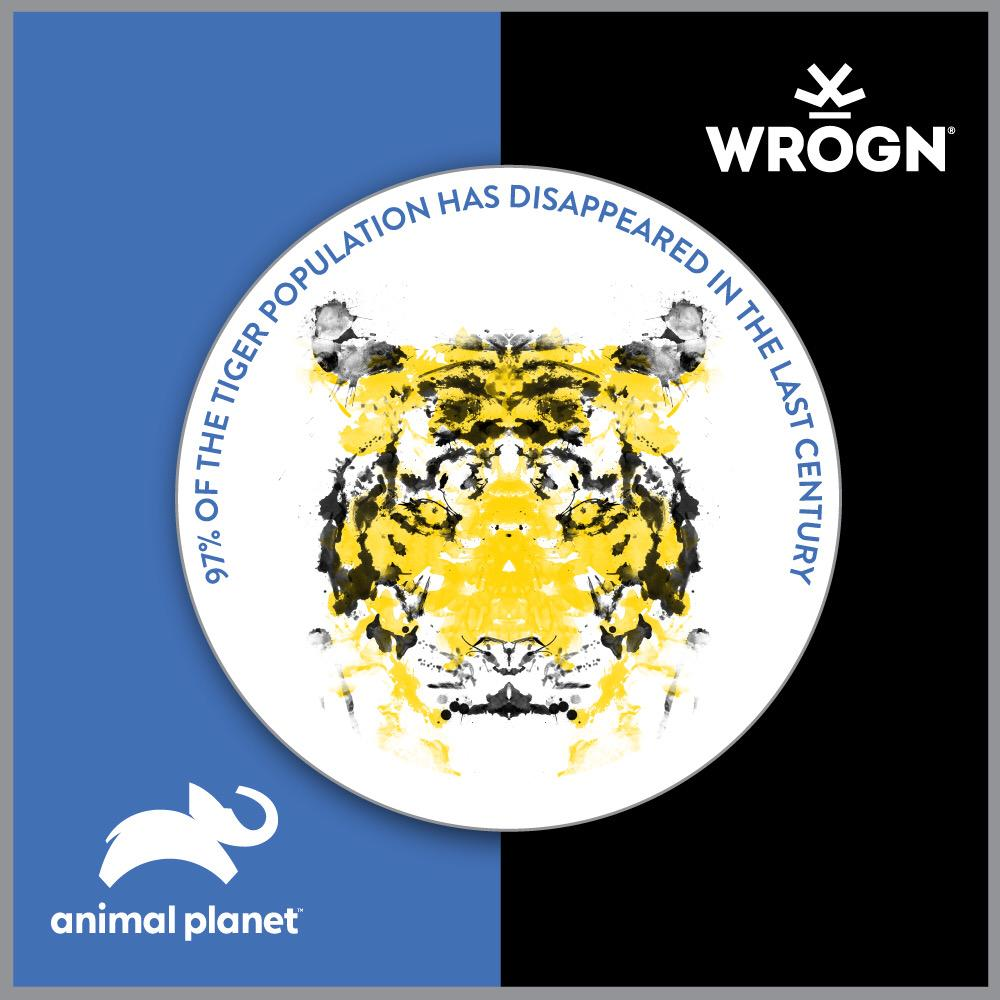 The future generations may never see a tiger except for in a book unless we do something!  Wrogn has joined forces with @AnimalPlanetIn to raise awareness towards this cause. Support us by wearing the cause:   #staymad #staywrogn #wildlife @BWObrands