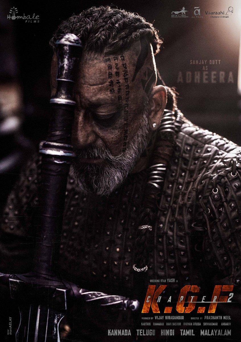 "Adheera Character Inspired By The "" Brutal Vikings""   Here Is The Second Look Of Sanjay Dutt's In KGF Chapter 2. 🔥   #KGF2 #KGFChapter2Update #KGFChapter2Teaser #KGFChapter2OnOct23 #KGFChapter2  #SanjayDutt  @TheNameIsYash @prashanth_neel @Karthik1423 @VKiragandur @hombalefilms https://t.co/5O087WlxbP"