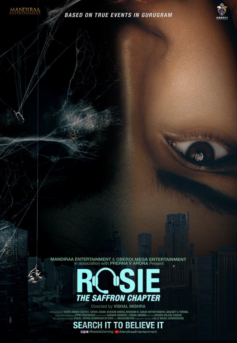 Who is Rosie? Now we know! Glad to announce the beautiful and talented #PalakTiwariAsRosie! @vivekoberoi #PrernaVArora @mishravishal @palaktiwarii @girishjohar @IKussum @d_reshabh @u_dhanesh @ikeyurpandya @sanjeetyermal @RosieIsComing #Rosie