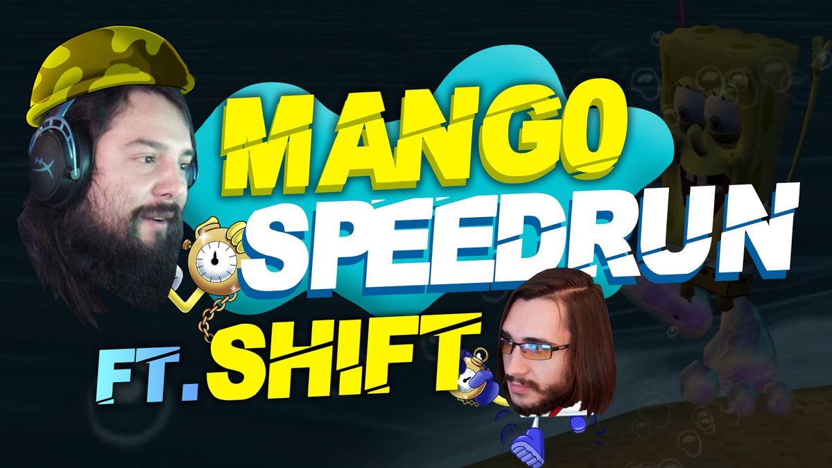 When youre a @BMW partner, youve gotta go fast right? We find out if @C9Mang0 can go fast as hes run through how to speedrun Battle for Bikini Bottom by @shiftposting himself! 💨 youtu.be/Sar-sxbao-Q