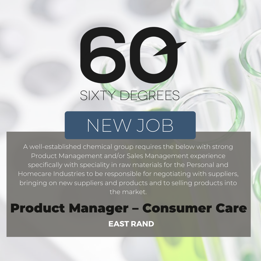 test Twitter Media - New #JobAlert - Product Manager – Consumer Care in East Rand  https://t.co/7x9mqxzu1t  #productmanagers #60Degrees #60DRecruiter #60Droles https://t.co/fxwu3awei2