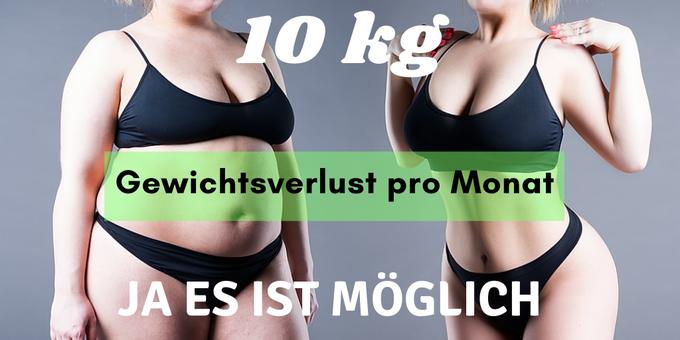 Diätplan verlieren 10 kg 1 Monat
