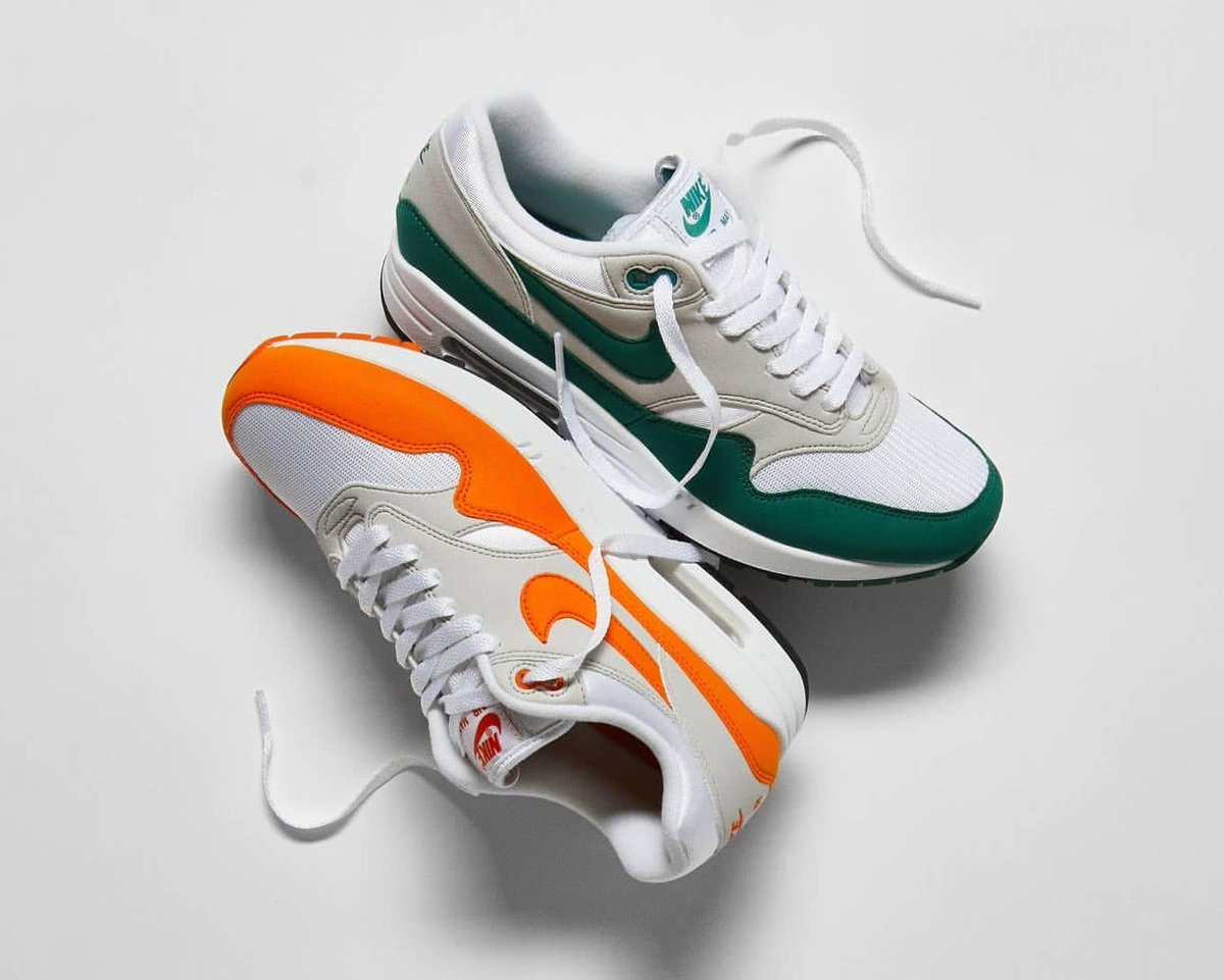 air max 1 anniversary hunter green