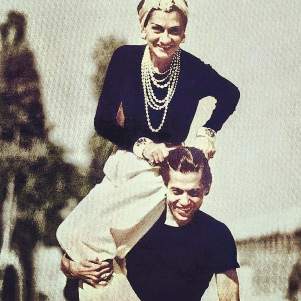 Loving @CHANEL ❤ Gabrielle Chanel shared a lifelong friendship with a dancer and choreographer Serge Lifar. Dance was a way for Gabrielle Chanel to build everlasting relationships. See Gabrielle Chanel and Dance @CHANEL IGTV. ❤💕💙💜 #InsideCHANEL https://t.co/FZfYLZ1Cb0