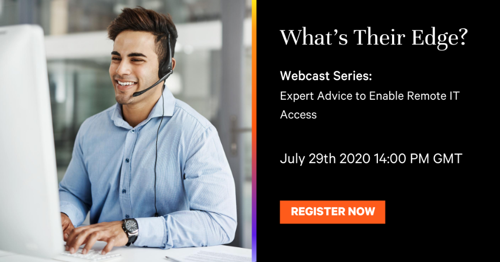 1 hour to go! Join our experts to find out how to help your customers prepare for business continuity when physical access to critical resources is restricted. This week's channel webcast is 29 July, 2pm BST. https://t.co/2yEiLoJwz6 #VertivEvents https://t.co/2SgVBL00k3