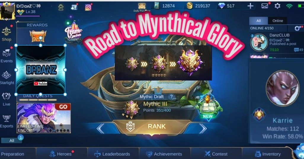 First ever Mobile Legends video is up.  Click the link in my bio to watch now!  #drdanz #mlbb #mlbbindonesia #mlbbindopic.twitter.com/yjnId0SOzY