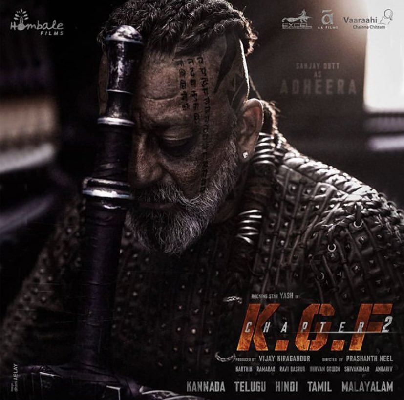 Sanjay Dutt's first look from #kgfchapter2 is mind blowing!  . Have you watched the first chapter? . . @duttsanjay #SanjayDutt #KGF #kgfmovie #KGF2 #KGFChapter2pic.twitter.com/hNd064hgll