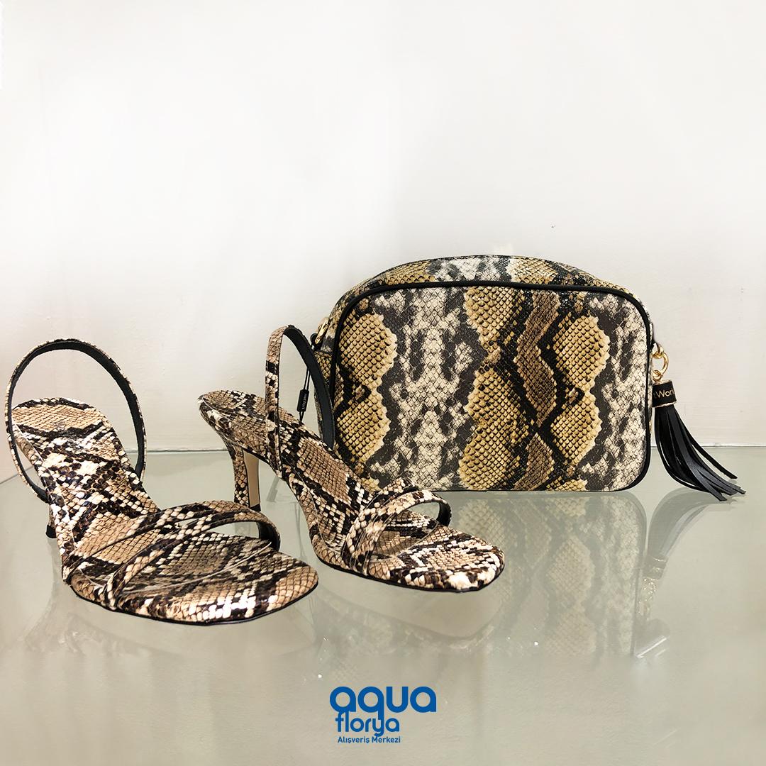 Favori kombinlerinizi bir sonraki seviyeye taşıyacak çanta ve ayakkabılar #AquaFlorya Network mağazasında. https://t.co/m3kmu3trFD