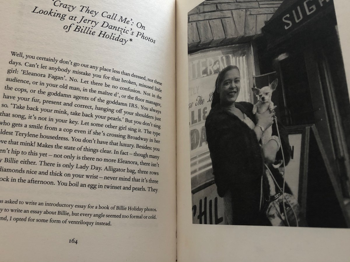 'They'll want to know about your run-ins with the federal government of these United States.' Zadie Smith's short story about Billie Holiday is stunning.