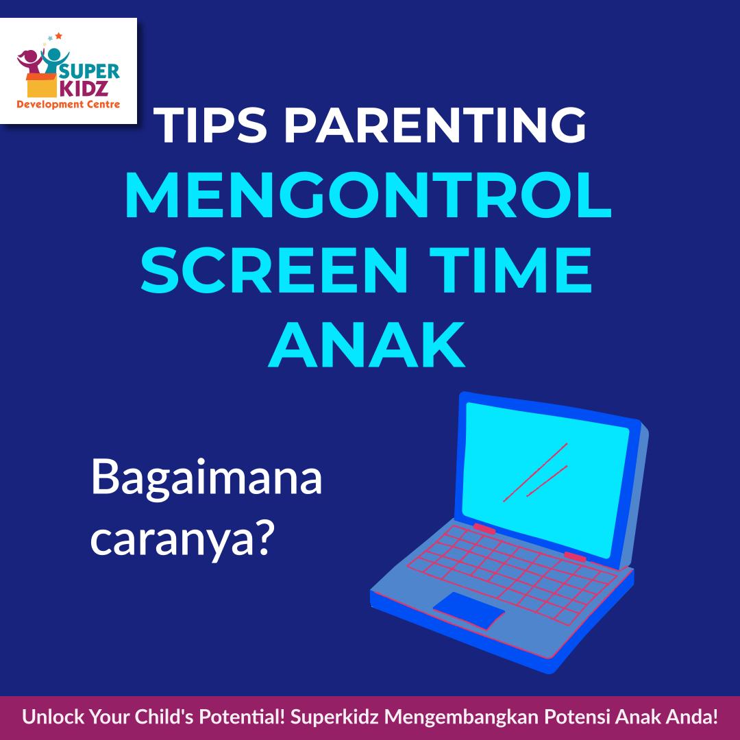 Hello, parents!   Yuk, simak tips mengontrol screen time anak berikut.   #tumbuhkembanganak #tumbuhkembang #kliniktumbuhkembanganak #screentimeanak #anakdangadget #gadget #parentinganak #KlinikTumbuhKembangAnakSuperkidz #kliniksuperkidzpic.twitter.com/u8nHeIKr2G