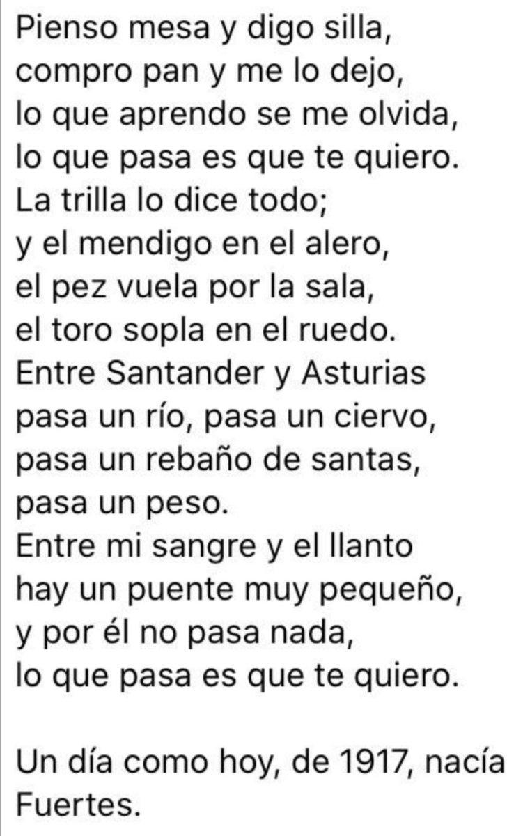 En un día como ayer hace 103 años, nacía Gloria Fuertes. Uno de sus poemas y una foto.