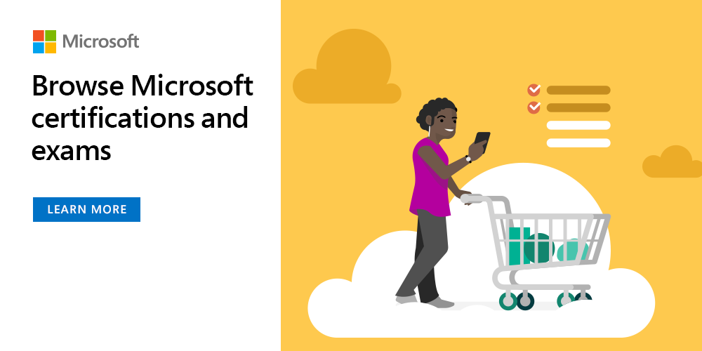 Develop solutions on the Cloud with Microsoft Cloud Society certifications and exams. Not sure where to start? We can help you tailor a learning pathway. Begin your journey today! https://t.co/lmdGasdEY9 #CloudSociety https://t.co/tD0qVm858B