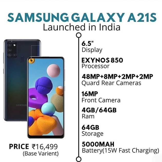 Amazon :- Rs.15,998 Flipkart :- Rs. 15,999 For reviews checkout http://pukkabuy.in/Mobile.html  #samsunggalaxy  #samsunga21s #trendingmobiles #bestphones #smartphones #samsungindia #technews #techlovers #samsunggalaxynote20 #samsunggalaxym31s #techaccessories #techgadgets #androiduserpic.twitter.com/9JYEfmz83C